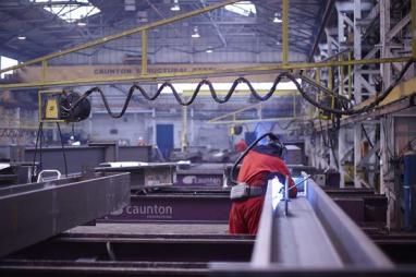 Nottinghamshire-based Caunton Engineering deliver steel for HS2's biggest tunnel site.