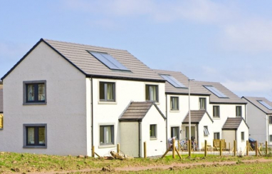 Supply of new housing jumps 15% in Scotland.