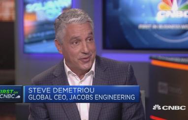 Steve Demetriou, global chair and CEO at Jacobs.