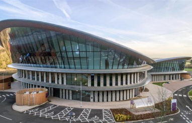 The £18m Caudwell International Children's Centre has been named as RICS UK project of the year.