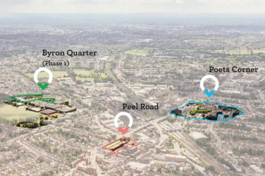 Harrow Council have named Wates Residential as development partner for the £600m regeneration of Wealdstone.