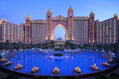 The iconic Atlantis, The Palm in Dubai, where Turner & Townsend worked on the largest hotel refurbishment in the United Arab Emirates.