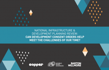 """the Barton Willmore report, report, """"Can Development Consent Orders help meet the challenges of our time?"""""""