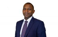 Derrick Sanyahumbi, the new chief executive officer of British Expertise International.