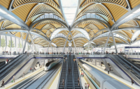 Artist's impression of the new Euston station for HS2.