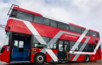 Hydrogen double decker bus prototype. Photo courtesy of TfL.