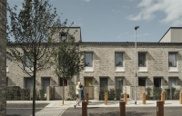 The pioneering Goldsmith Street council estate in Norwich has become the first social housing project to win the prestigious RIBA Stirling Prize in the award's 23-year history.