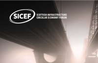 Scottish infrastructure projects should now be built using less new materials and significantly more recycled materials, say industry leaders.