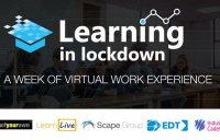 Almost 2,000 school students complete virtual work experience programme led by Scape Group and partners, generating almost £200,000 in social value.