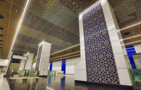 The Tun Razak Exchange station in Malaysia.
