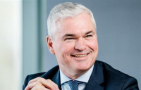 Vincent Clancy, chairman & chief executive officer of Turner & Townsend, who have been awarded a fourth Queen's Award.