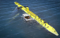 £3.4m has been awarded to help build the world's most powerful tidal turbine.