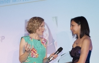Roma Agrawal - 2014 Diamond Award winner - tells Channel 4 News anchor Cathy Newman of her passion to spread the engineering word