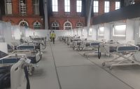 The NHS Nightingale Hospital North West - made possible by construction workers.